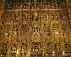 Seville, Spain, The Altarpiece of Seville Cathedral