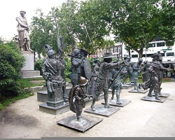 Superb Holiday, Amsterdam, The Netherlands, Statues