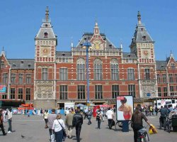 Superb Holiday, Amsterdam, The Netherlands, Central station