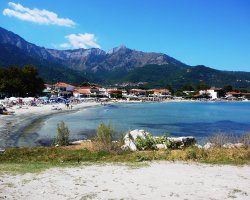Beaches of Thassos, Tassos, Greece, Golden Beach 02