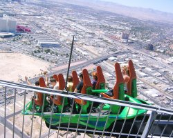 Top Rotating Restaurants, Stratosphere, Las Vegas, USA, Extreme ride