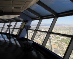 Top Rotating Restaurants, Stratosphere, Las Vegas, USA, Vegas Boulevard from Stratosphere
