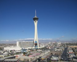 Top Rotating Restaurants, Stratosphere, Las Vegas, USA, Hotel view