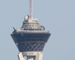 Top Rotating Restaurants, Stratosphere, Las Vegas, USA, Hotel top view