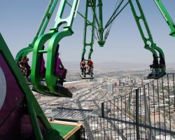 Top Rotating Restaurants, Stratosphere, Las Vegas, USA, Top Coaster overview