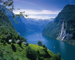 Unforgettable Holiday, Norway, Europe, Geirangerfjord upview