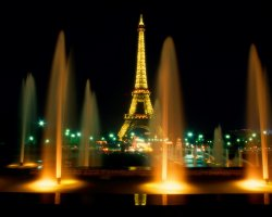 Valuable Monuments, Paris, France, Eiffel Tower night view