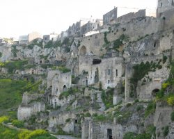 Great places, Matera, Basilicata, Italy, Sassi overview