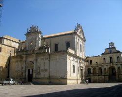 Great places, Lecce, Apulia, Italy, Duomo