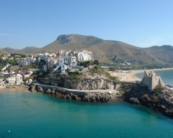 Great places, San Felice Circeo, Lazio, Italy, Coast panoramic view