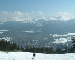 Tatra Mountains, Europe, Zakopane at spring time