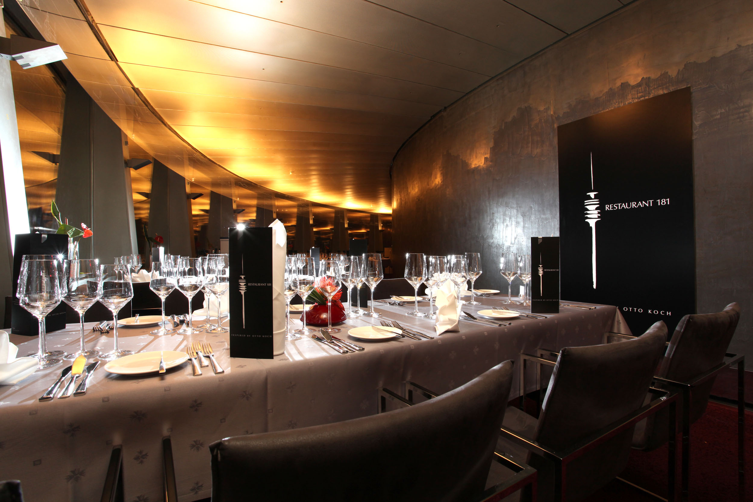 Top Rotating Restaurants Restaurant 181 Munich Germany Interior View