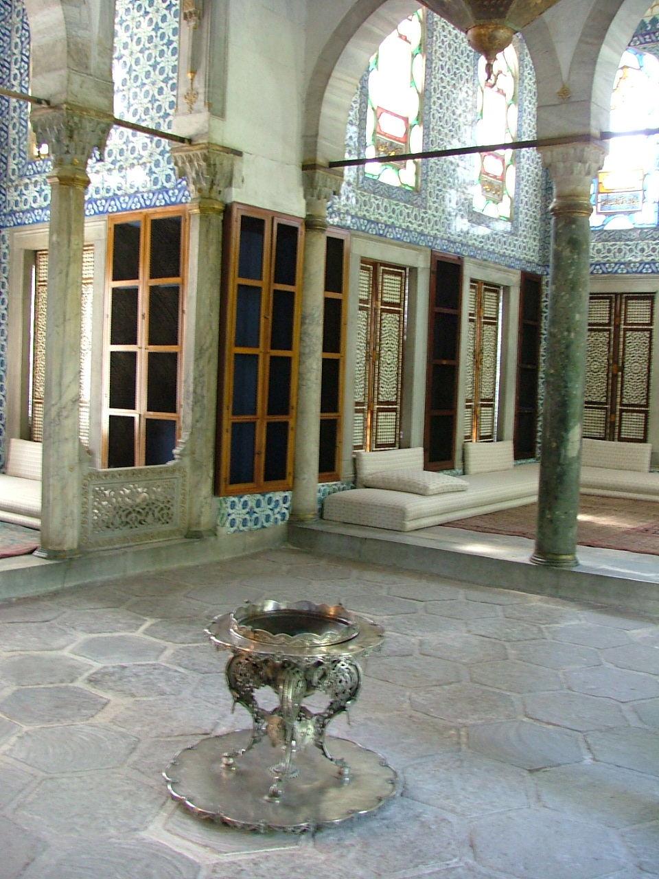 Topkapi Palace, Istanbul, Turkey, Harem interior