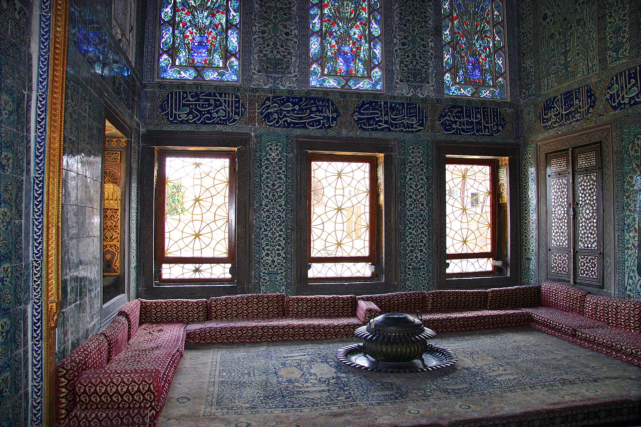 Topkapi Palace, Istanbul, Turkey, The Harem room