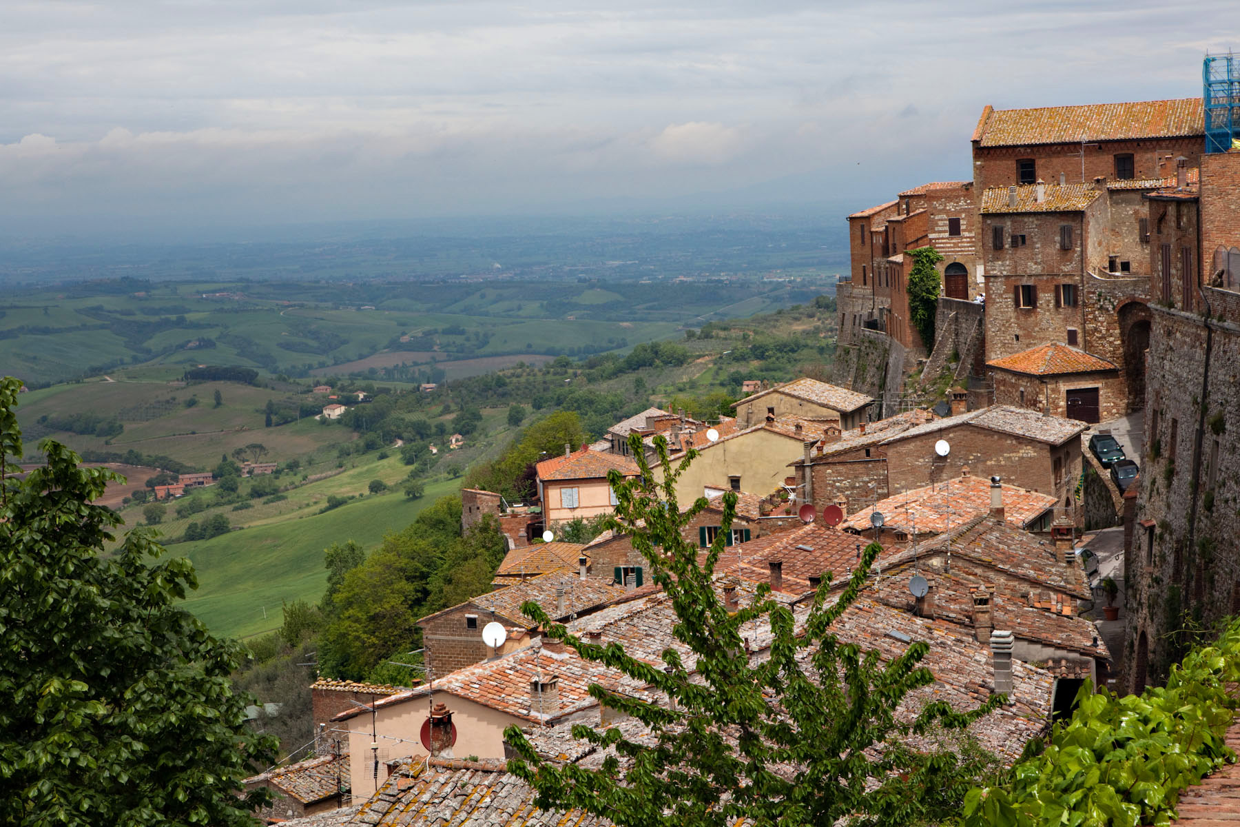 Visiting Tuscany  Tuscany  Italy  Landscape upviewItaly Landscape