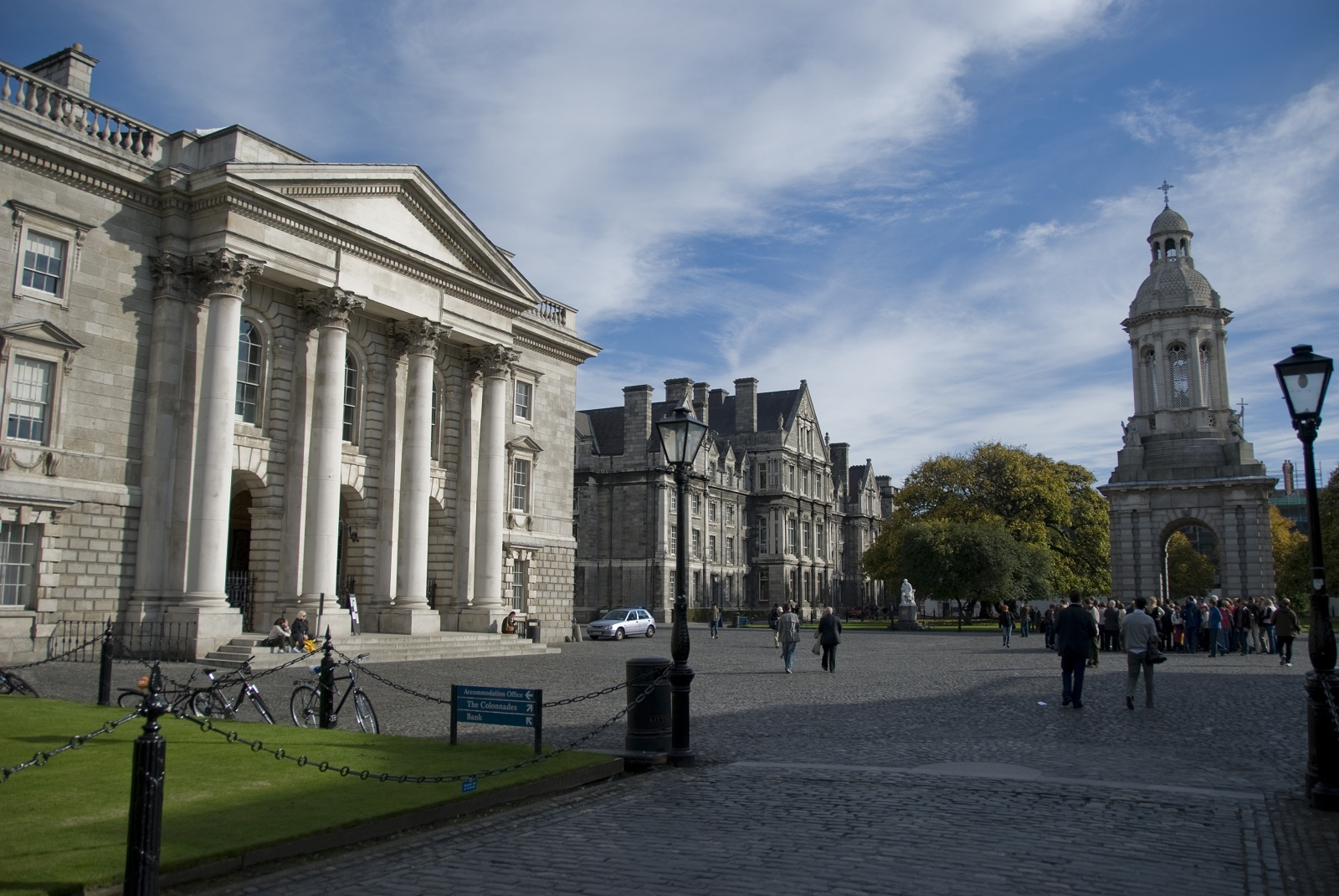 Most Beautiful Universities Dublin Ireland Trinity
