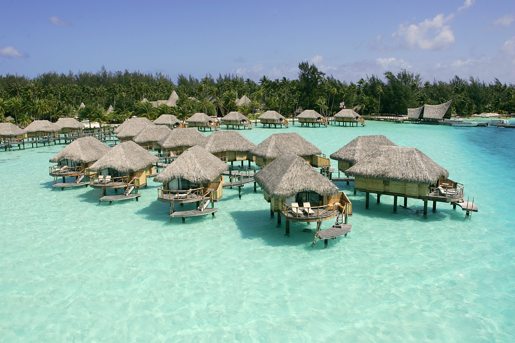 World Best Hotels, Hawaii, Sofitel Bora Bora Marara Beach Bungalows ...