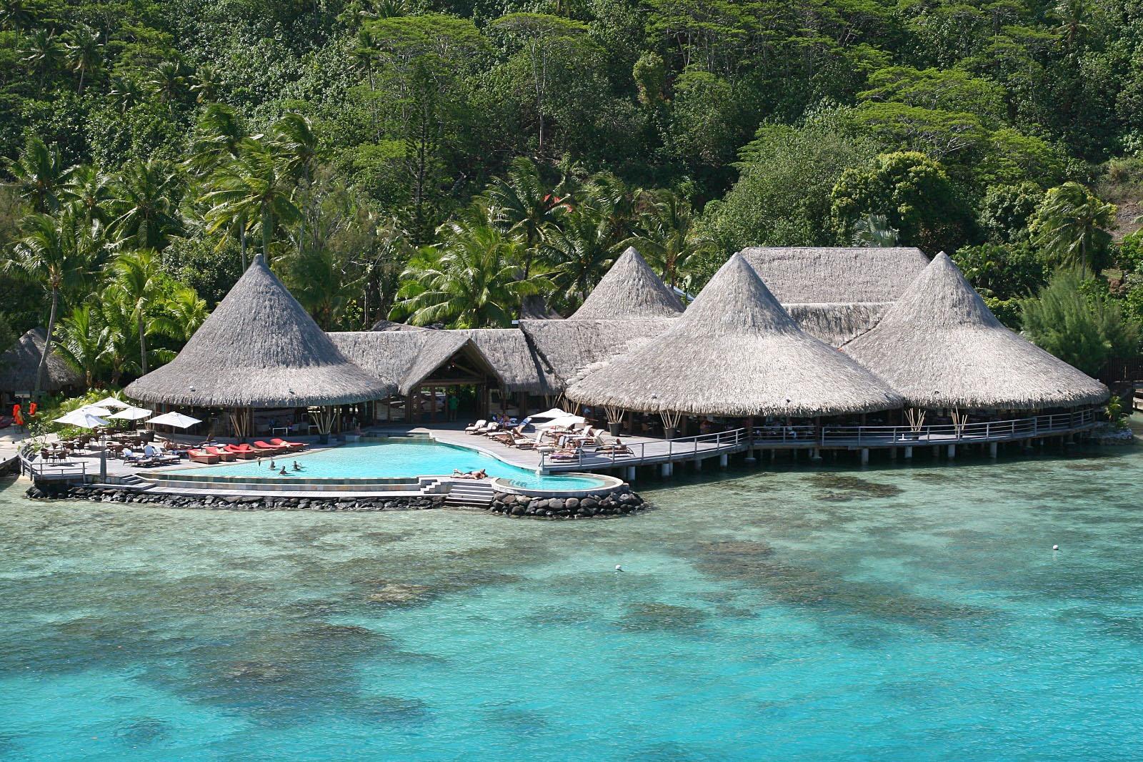 World Best Hotels Hawaii Sofitel Bora Marara Beach Private Island