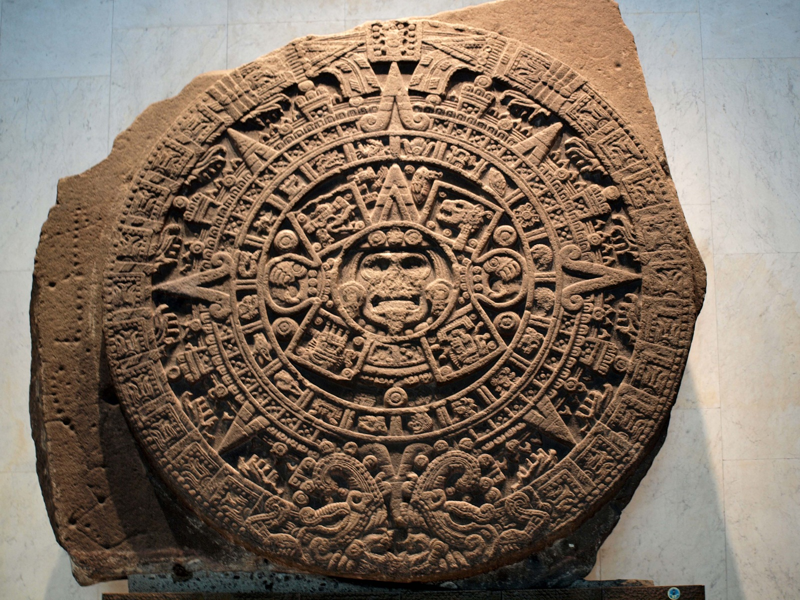 National Museum of Anthropology, Mexico City, Aztec calendar