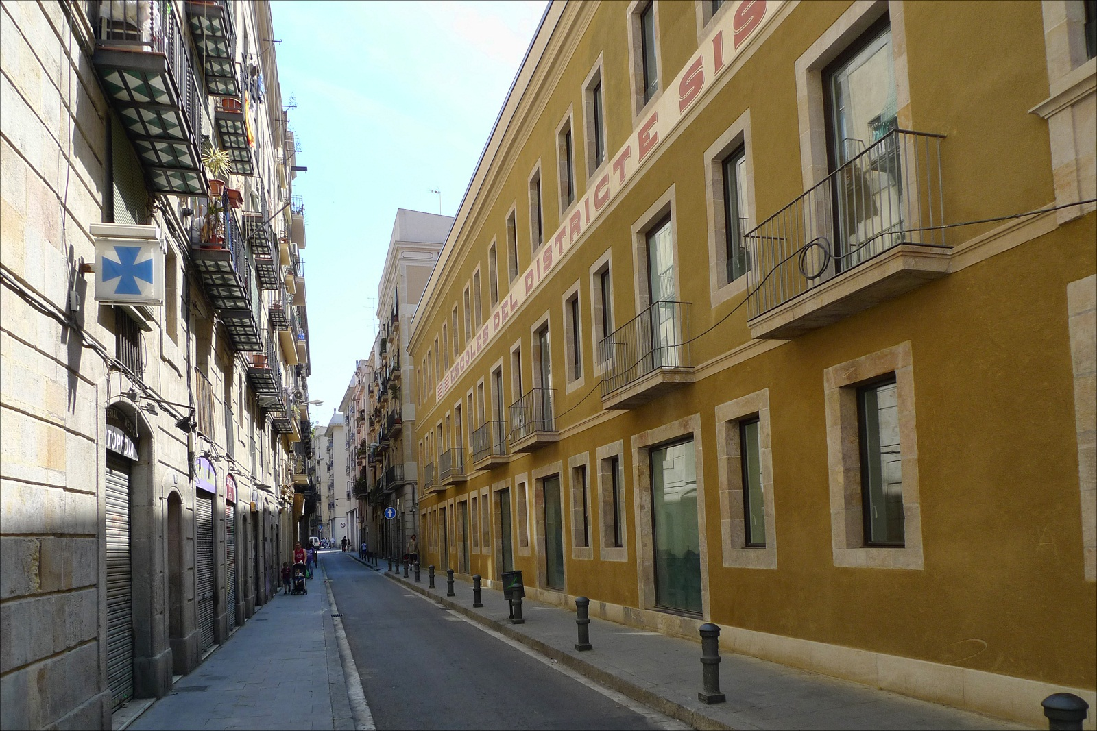 Barcelona Architecture, Spain, Streets 01