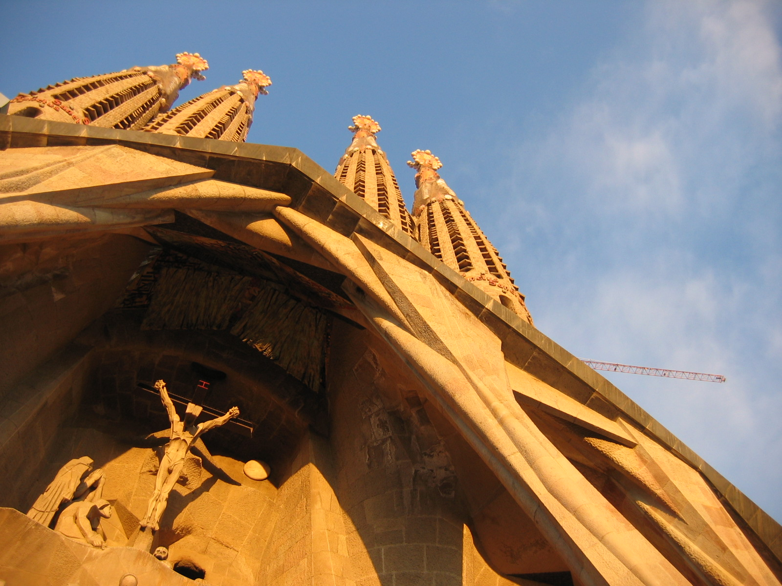 Barcelona Architecture, Spain, Sagrada Familia Crucifix