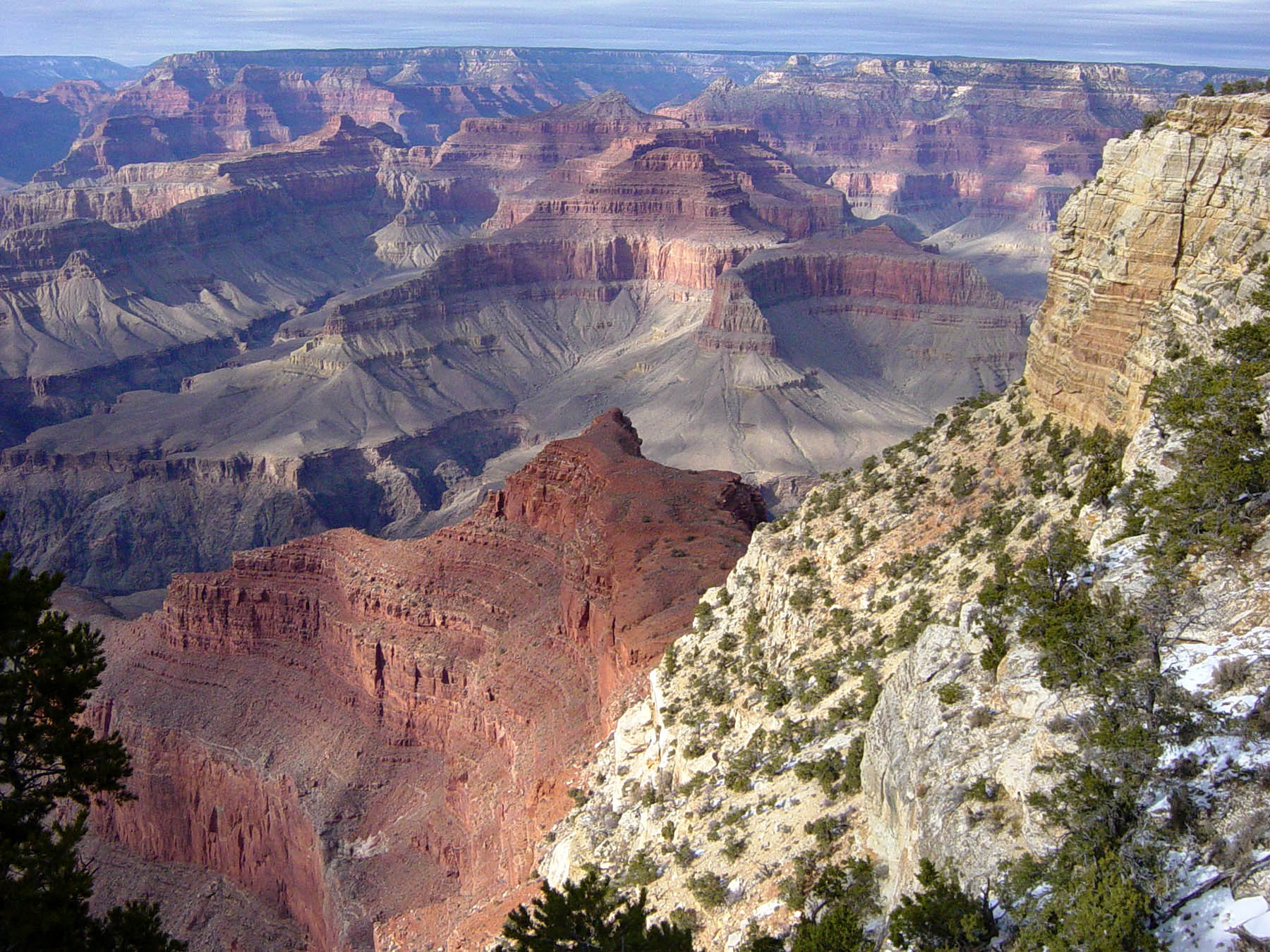 Grand Canyon, U.S.A, Peak overview