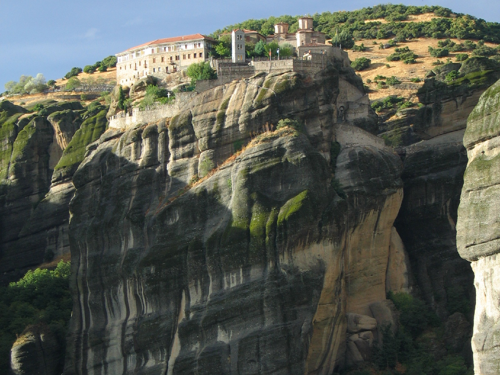 Meteora, Greece, The Great Meteoron 009