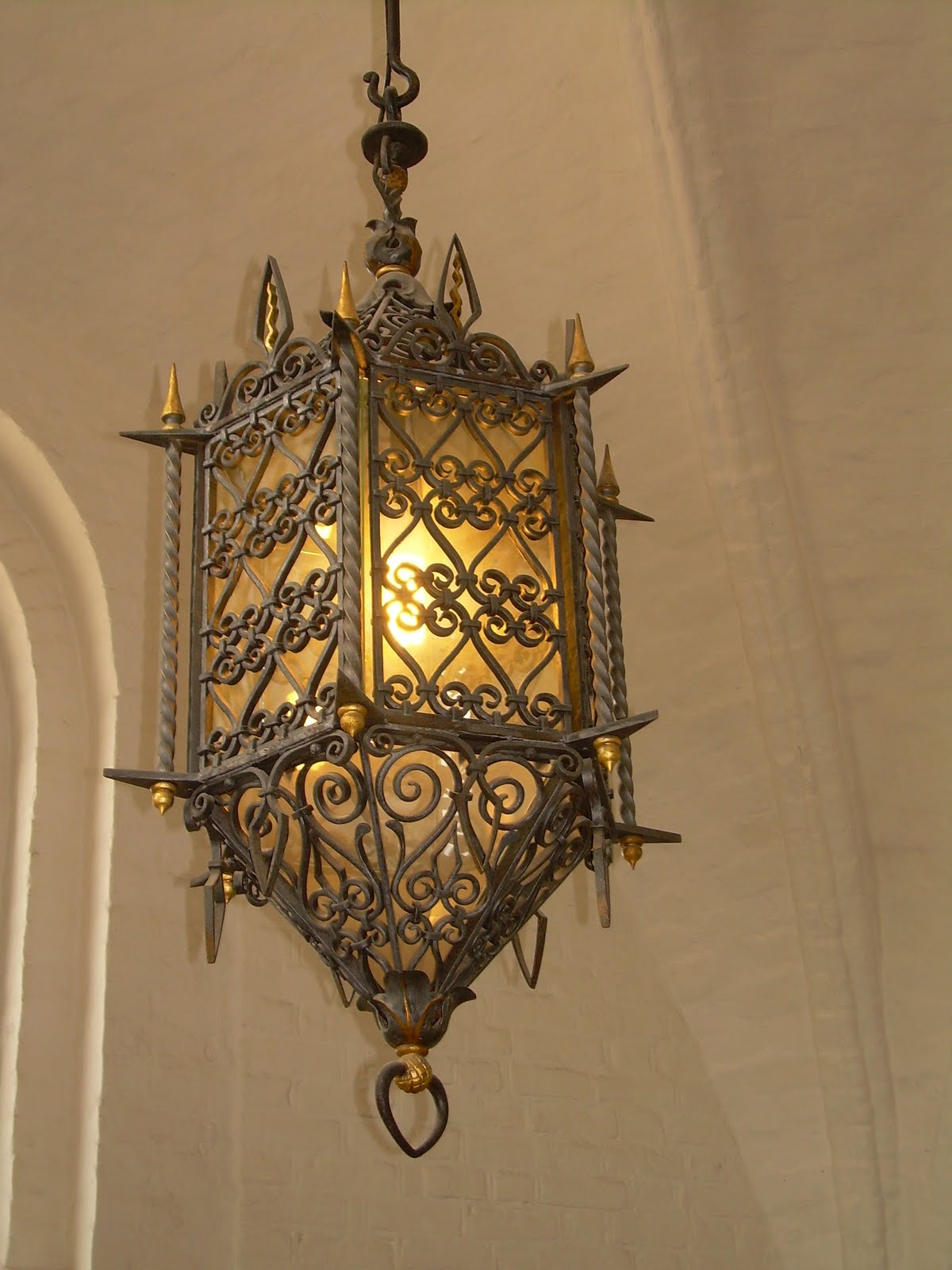 Roskilde Cathedral, Denmark, Europe, Interior Lantern
