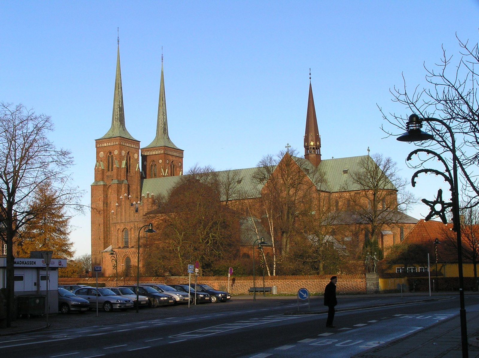 Roskilde Cathedral, Denmark, Europe, Panorama