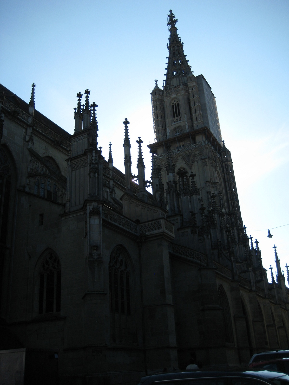 Saint Paulus Dom, Munster, Germany, Silhouette
