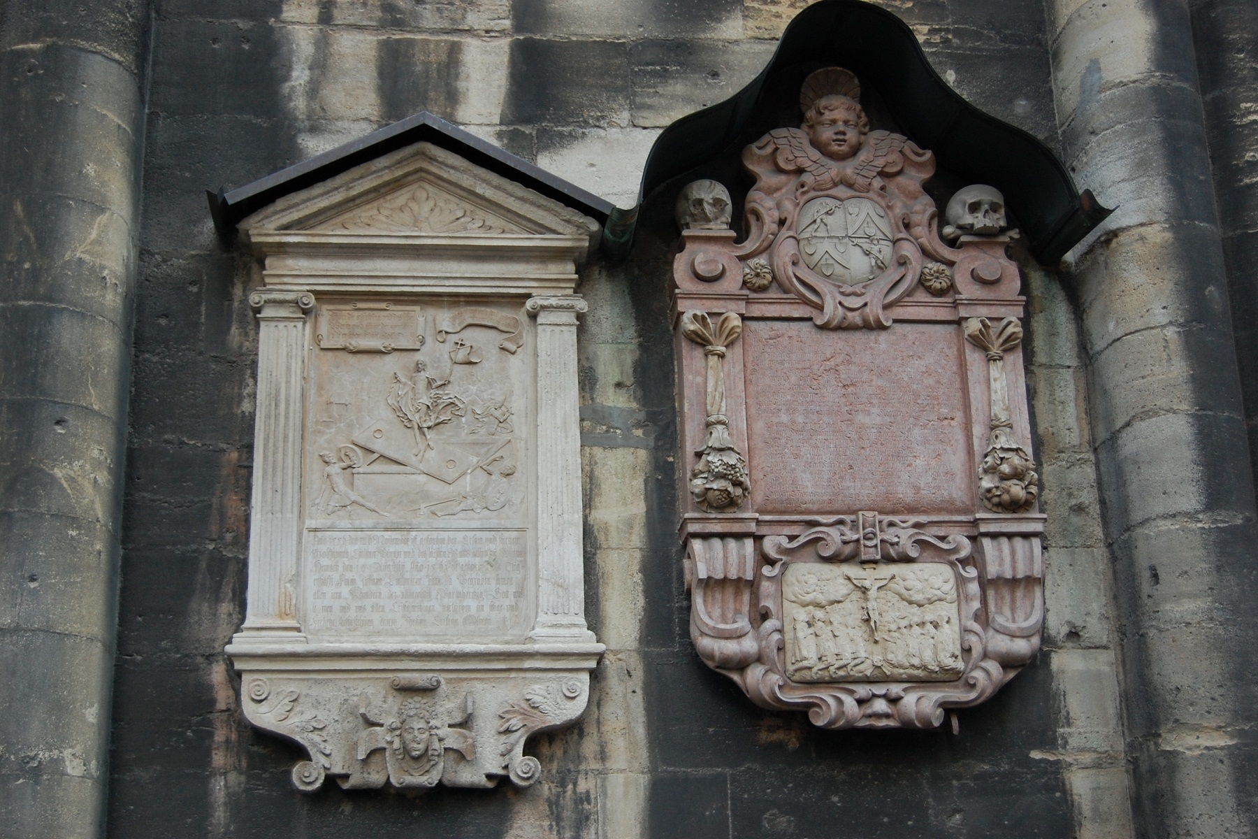 St Stephan Cathedral, Vienna, Austria, Outside reliefs