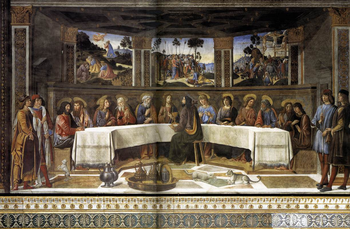 Sistine Chapel, Vatican, Cosimo Rosselli, The Last Supper
