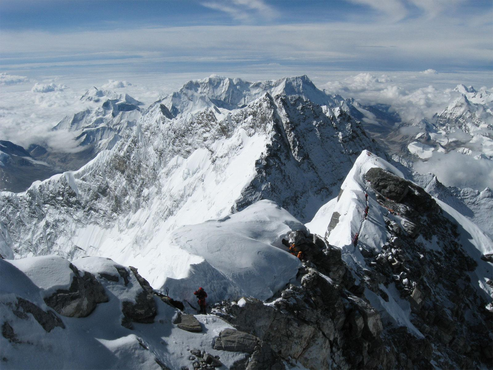 Tallest Mountains, Nepal, Mount Everest, Upper view