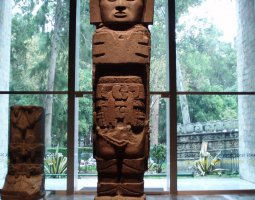 National Museum of Anthropology, Mexico City, Totem exhibit