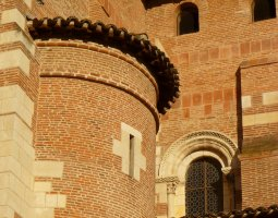 Basilique Saint Sernin, Toulouse, France, Walls