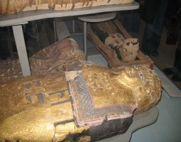 British Museum, London, England, Sarcophagus