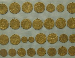 British Museum, London, England, Gold Coins