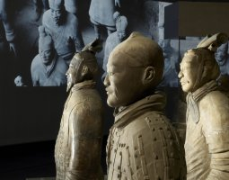 British Museum, London, England, Terracotta Soldiers