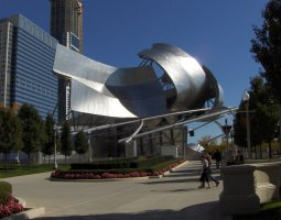 Chicago, USA, Jay Pritzker pavilion