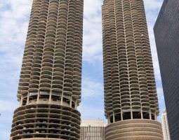 Chicago, USA, Marina city