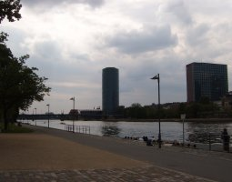 Frankfurt Architecture, Germany, Main river