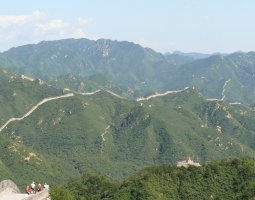 Great Wall of China, China, Panorama