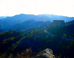 Great Wall of China, China, Sunny day