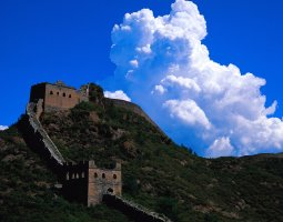 Great Wall of China, China, Watchtowers overview