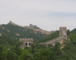 Great Wall of China, China, Panorama (4)