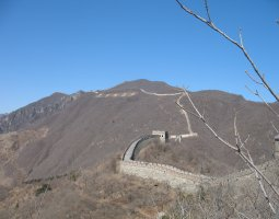 Great Wall of China, China, Near tophill