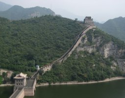 Great Wall of China, China, Crossing the river