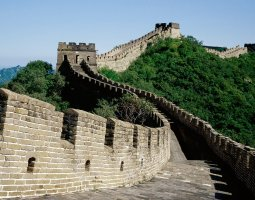 Great Wall of China, China, Top view (2)