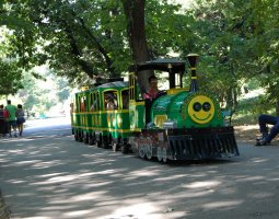 Herastrau Park, Bucharest, Romania, Wattman children train