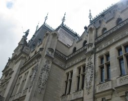 Iasi architecture, Romania, Palace of Culture detail